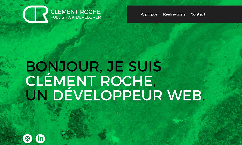 Portfolio 2018 - Clément Roche