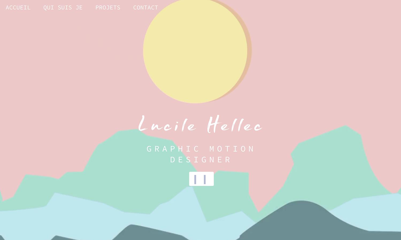 Portfolio 2018 - Lucile Hellec